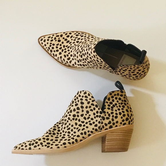 0e92fe304d5f Dolce Vita Shoes | Leopard Print Booties | Poshmark
